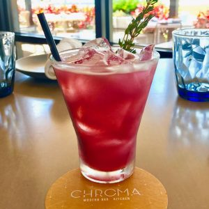 Chroma Modern Bar and Kitchen donated partial proceeds from their Pride of Orlando cocktail to the Zebra Coalition as an act of kindness_2017