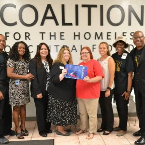 Members of the City of Orlando Mayor_s Martin Luther King, Jr. Commission donated $1,500 worth of Lynx bus passes as an act of kindness_2017